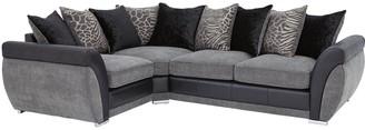 Hilton Left-Hand Double Arm Corner Group Sofa