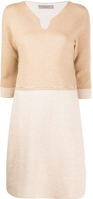 D-Exterior Cashmere-Blend Dress