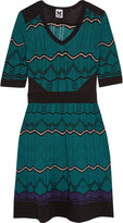M Missoni Cotton-blend crochet-knit dress