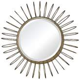 Lazy Susan Sunburst Gold Decorative Wall Mirror with Wire Frame