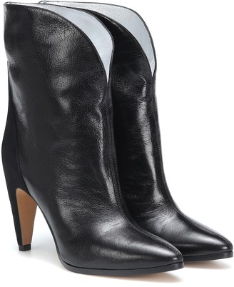 Givenchy GV3 leather ankle boots