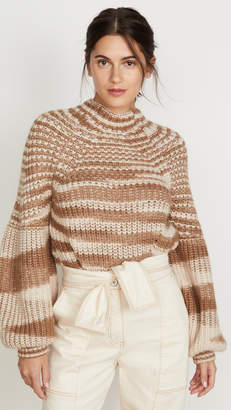 Ulla Johnson Lucille Alpaca Turtleneck Sweater
