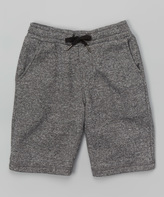 Micros Charcoal Ghost Shorts - Boys