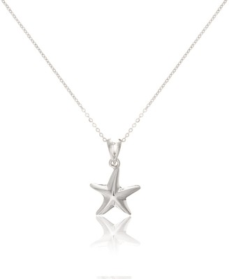 Auree Jewellery Tamarin Sterling Silver Starfish Pendant
