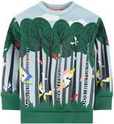 Fendi Printed neoprene sweatshirt