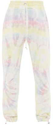 Amiri Tie-dye Cotton-jersey Track Pants - Mens - Multi