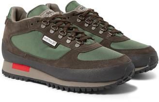 Adidas Consortium Winterhill Spezial Suede And Mesh Sneakers