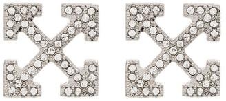 Off-White Stud Earrings