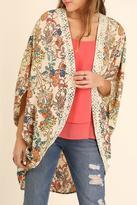 Umgee USA Flirty Floral Fun Kimono