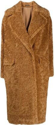Tagliatore Teddy Single Breasted Coat