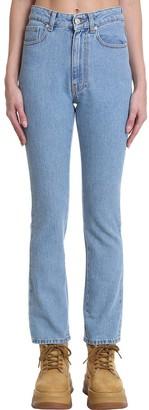 Chiara Ferragni Regular Flirtin Jeans In Blue Denim