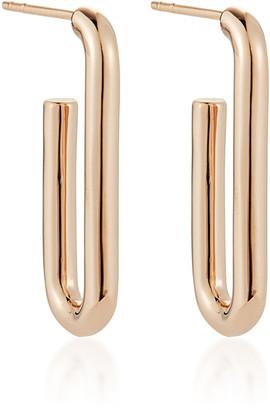 Rosegold Walters Faith Saxon 18k Rose-Gold Single Chain Link Earrings