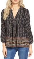 Madewell Women's Boheme Silk Popover Shirt