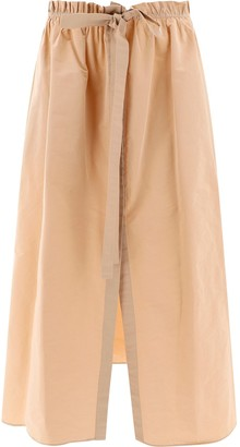 Givenchy Bow Detail Maxi Skirt