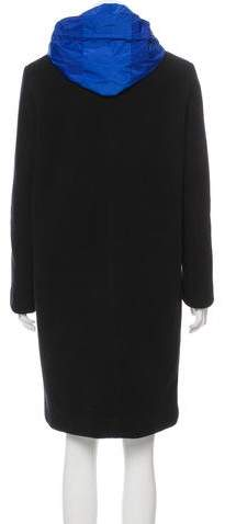 Sandro Wool Knee-Length Coat