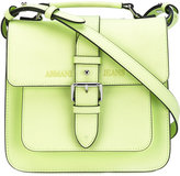 Armani Jeans buckled satchel bag - women - Polyester/Polyurethane - One Size