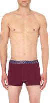 Derek Rose Band Patterned Jersey Shorts