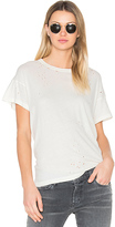The Great The Boxy Crew Neck Tee in Ivory. - size 2 / M (also in 3 / L)