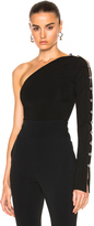 David Koma Loops & Metal Balls One Sleeve Bodysuit