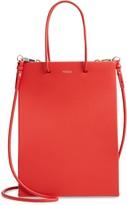 Medea Tall Calfskin Leather Bag