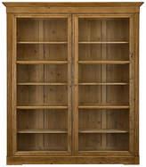 Ralph Lauren Home Edwardian Bookcase - Waxed Pine