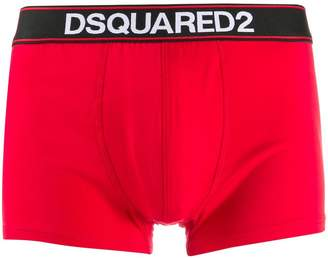 DSQUARED2 logo embroidered boxers