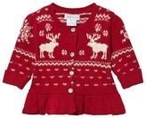 Ralph Lauren Red Reindeer Cardigan