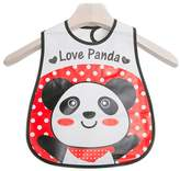 Kylin Express Lovely Cartoon Design Baby Bib Best Home/Travel Bib Soft,Waterproof Love Panda