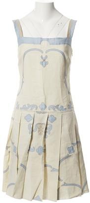 Prada White Linen Dresses