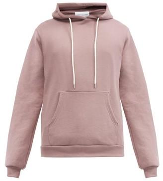 John Elliott Beach Cotton-terry Hooded Sweatshirt - Burgundy