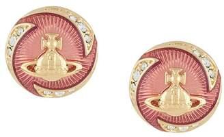 Vivienne Westwood Orb disc earring