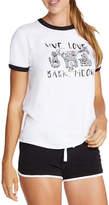 Skechers Womens Crew Neck Short Sleeve Graphic T-Shirt