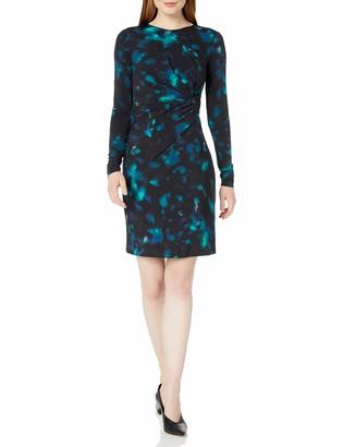 Ellen Tracy Women's Twisted Waist Dress