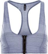 Lisa Marie Fernandez Blue Cotton-Blend Bra Top