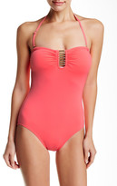 Vince Camuto Tube Maillot One Piece Swimsuit