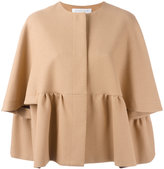 Gianluca Capannolo pleated jacket - women - Cotton/Polyamide/Viscose - 42