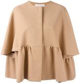 Gianluca Capannolo pleated jacket - women - Viscose/Cotton/Polyamide - 42