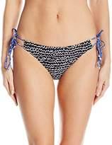Echo Women's Fleur De La Mer String Bikini Bottom