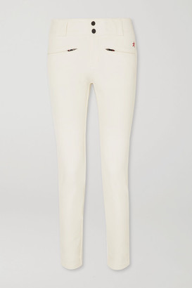 Perfect Moment Aurora Slim-leg Ski Pants - Cream