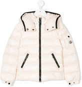Moncler contrast zip padded jacket