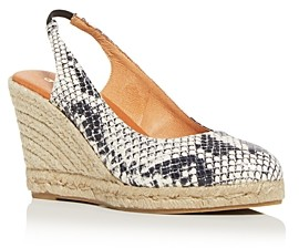 Andre Assous Women's Raisa Slingback Espadrille Wedge Sandals