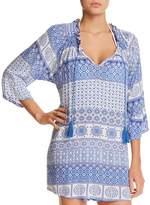J Valdi Tassel Tunic Dress Swim Cover-Up