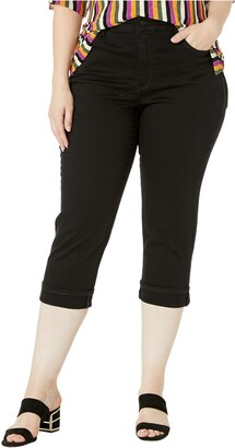 NYDJ Women's Plus Size Crop Cuff Jeans
