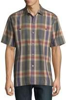 Tommy Bahama Paratay Plaid Silk Button-Down Shirt