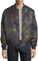 Wesc Camouflage Bomber Jacket