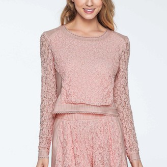 Pink Label Giselle Long Sleeve Top GL2
