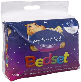 Silentnight Kids Complete Bed Set - Includes 10.5 Tog Duvet, Mattress Protector and Pillow