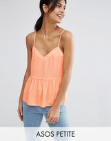 Asos PEITTE Soft Gathered Pretty Cami Top