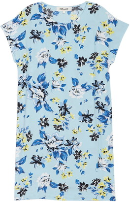 Diane von Furstenberg Danika Floral Print Silk Shift Dress