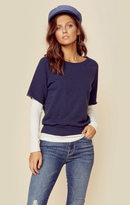 Nation Ltd. westlake layered sweatshirt